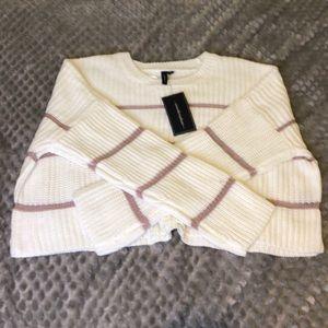 Sweaters Nwt Moon Madison Cropped Long Sleeve Sweater Poshmark